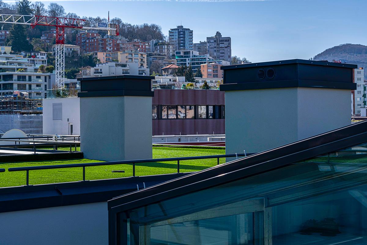Impermeabilizzazione tetto piano Lugano